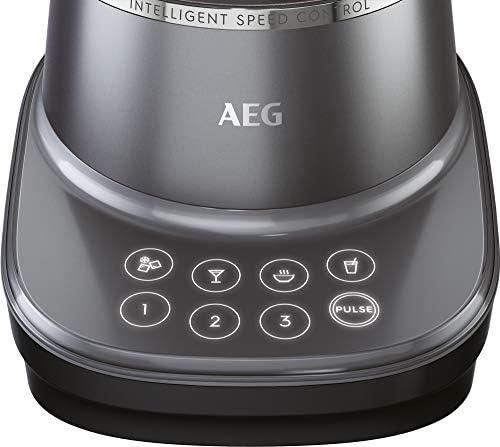 AEG TB7-1-8MTM Batidora de Vaso Gourmet, 3 Velocidades, 4 ...