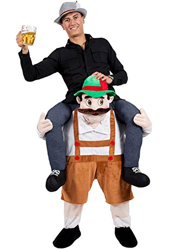 Novelty Carry Me Ride on Easter Mascot Costume Animal Funny Fancy Dress Pants-Oktoberfest