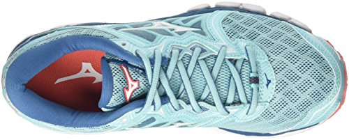 01 Aquasplash Mizuno Zapatillas White Mujer Sky Wos Multicolor Running para de Hotcoral Wave zzHrw7