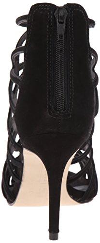 Steven by Steve Madden Tana vestido sandalias de la mujer Black nubuck