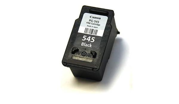 Canon PG-545 - Cartucho de tinta negra para impresoras Canon Pixma ...