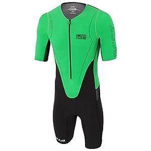Huub Dave Scott Mens Long Course Tri Suit Sleeved Triathlon Training Race S-XL