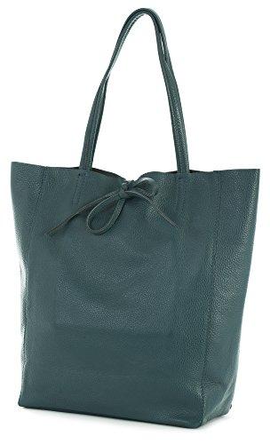 LiaTalia Turquoise Sombre Bleu pour femme Cabas 16qwSr1Z