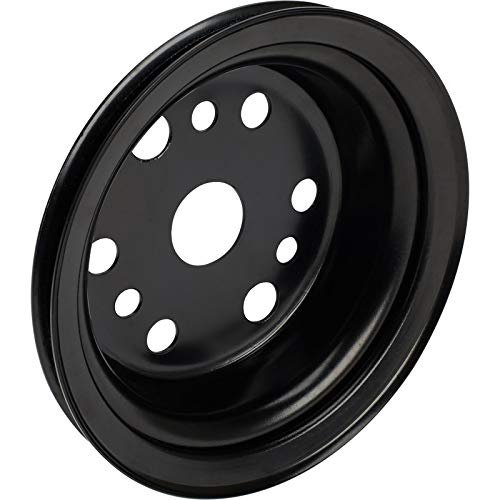 3rd Groove S/B Chevy Crank Pulley, Black
