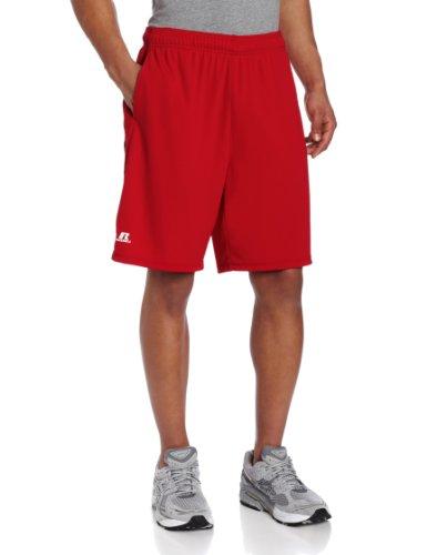 Russell Athletic Men's Dri-Power Color-Block Short, Navy Heather, ()