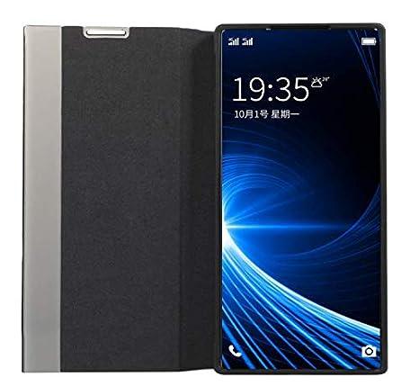 Nadoli Smart Flip Cover f/ür Galaxy S10,Modisch Weich Silikon Tpu Innere Seite Fenster View Auto Wake//Sleep Pu Leder Standing Schutzh/ülle Brieftasche f/ür Samsung Galaxy S10