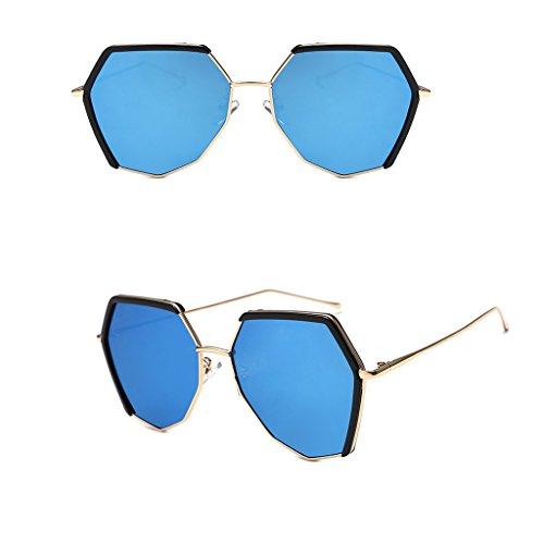 33a58ece679687 ... Femmes couleur Protection Soleil De Bleu Rose Uv Wangxiaolin Polarisées  Pour Lunettes qfaAI