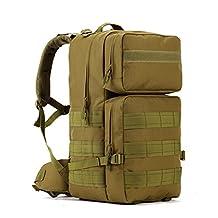Protector Plus Tactical Backpack Military Rucksacks Bag for Outdoor Camping Hiking Climbing Trekking Waterproof 55L