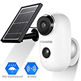 Battery Security Camera Wireless - Solar Powered IP Camera...