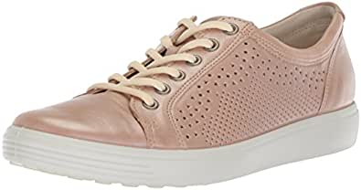 ECCO Footwear Womens Women's Soft 7 Sneaker, Powder, 35 Medium EU (4-4.5 US)