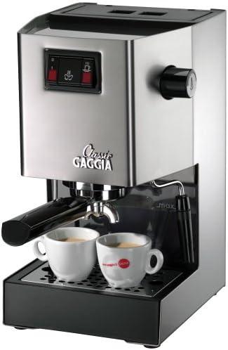 Amazon.com: Gaggia Cafetera de espresso clásica ...