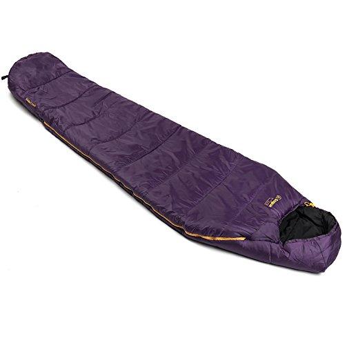 SnugPak Basecamp Sleeper Lite Sleeping Bag, Amethyst Purple