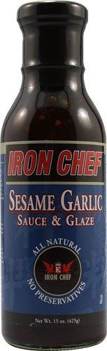 Iron Chef Sauce & Glaze Sesame Garlic -- 15 fl oz - 2 pc
