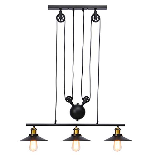 Pulley Pendant Lights Kitchen in US - 7