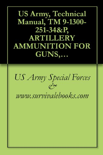 US Army, Technical Manual, TM 9-1300-251-34&P, ARTILLERY AMMUNITION FOR GUNS, HOWITZERS, MORTARS, RECOILLESS RIFLES AND 40MM GRENADE LAUNCHERS, 1994