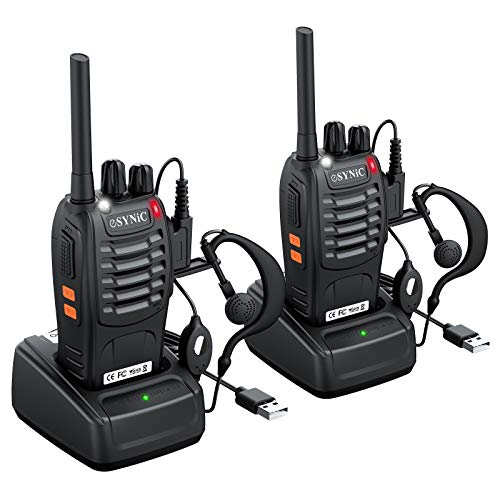 eSynic Rechargeable Walkie Talkies