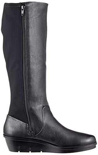Boots Women's Schwarz Skyler ECCO High 51052 Black qHf8x4