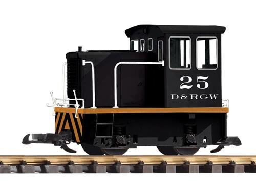 Piko G Scale D&RGW GE 25-TON Diesel SWITCHER Locomotive, used for sale  Delivered anywhere in USA