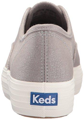 Zapatillas Plata para Met Mujer Triple Canvas Keds Hx7SSq