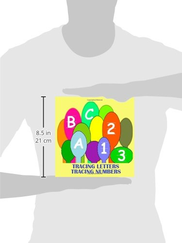 Abc 123: Letter Tracing and Number Tracing in this ABC123 book ...