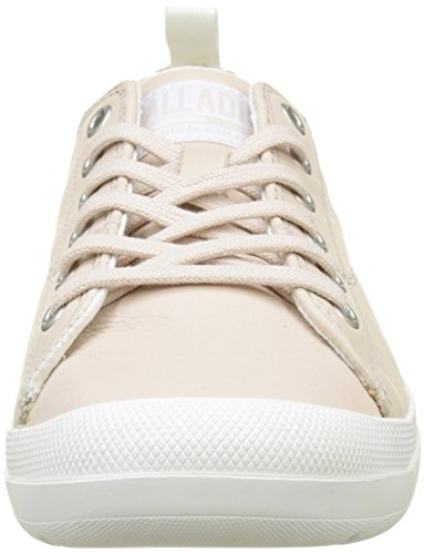 Star para Mujer Whisper Zapatillas Beige White M20 Leather Pink Blanc Palladium Lace Wander wq6ASA