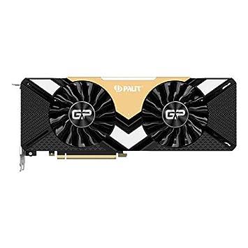 PALIT GeForce RTX2080TI GamingPro OC 11GB DDR6 NE6208TS20LC-150A Graphics  Card - Black
