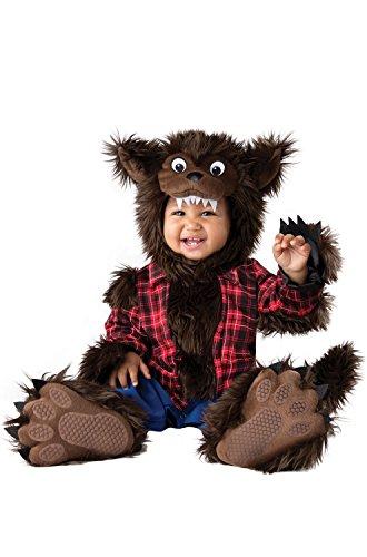 Halloween Costumes For Infants 2016 (InCharacter Unisex Baby Wee Werewolf Costume - Medium - Multi)