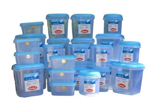 Buy Chetan Softlock 27 Pc Set Plastic Kitchen Storage Airtight