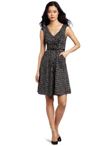 Jessica Simpson Women's V-Neck Wear To Work Dress