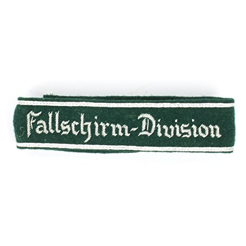 German WWII Military Wool Uniform Cuff Title- Fallschirm (Wwii Paratrooper Uniform)