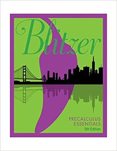 Precalculus essentials 5th edition robert f blitzer precalculus essentials 5th edition 5th edition by robert f blitzer fandeluxe Choice Image