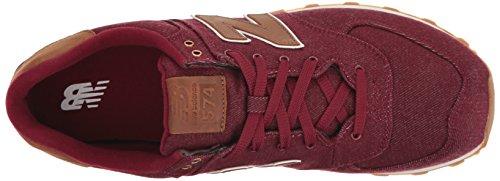Sneaker Red Men Pack New BROWN Canvas ML574 Balance Tq4Xf