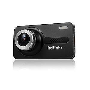 SpyGear-KDLINKS X1 Full-HD 1920 x 1080 165 Degree Wide Angle Dashboard Camera Recorder Car Dash Cam with GPS, G-Sensor & WDR Superior Night Mode - KDLINKS