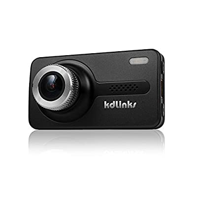 SpyGear-KDLINKS X1 Full-HD 1920 x 1080 165 Degree Wide Angle Dashboard Camera Recorder Car Dash Cam with GPS, G-Sensor & WDR Superior Night Mode - KDLINKS