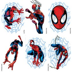 1a471259d Amazon.com : 72 Spiderman Tattoos : Childrens Temporary Tattoos : Beauty