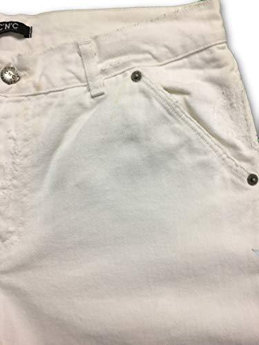 Jeans White In W40 Cnc Rrp Ittierre 00 £199 qt85BOnH