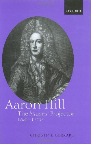 Download Aaron Hill: The Muses' Projector, 1685-1750 Pdf