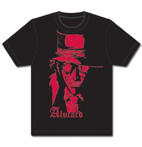 Hellsing Alucard Mens T-Shirt, Black