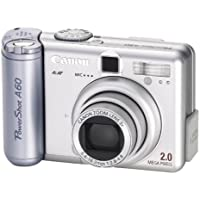 Canon PowerShot A60 2MP Digital Camera with 3x Optical Zoom At A Glance Review Image