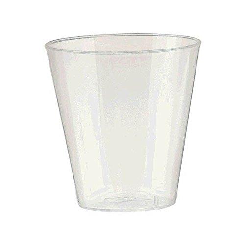 - Boozy Fun Shot Glasses Big Bundle Party Tableware, Pearl, Plastic, 2 Ounces