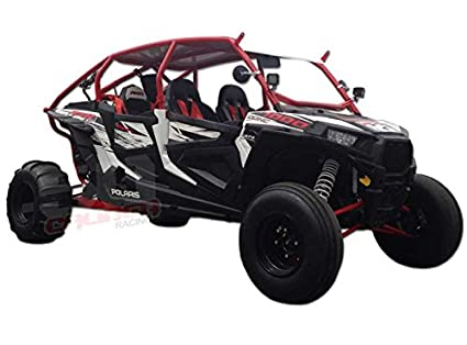 Polaris Rzr 1000 4 Seater >> Polaris Rzr Xp1000 4 Seater Radius Roll Cage With Rear Bumper Led Light Tabs And Whip Tab