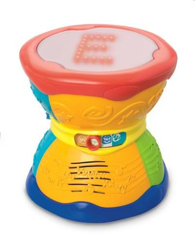 LeapFrog Learn & Groove Alphabet Drum (Kids Tap And Learn Alphabet Toys)