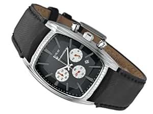 Replay RX5601NBH - Reloj de mujer de cuarzo, correa de piel color negro