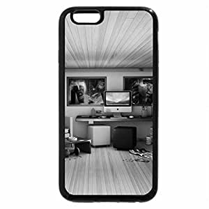iPhone 6S Plus Case, iPhone 6 Plus Case (Black & White) - 3D