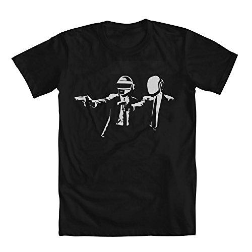 GEEK TEEZ Daft Pulp Men's T-Shirt Black X-Large