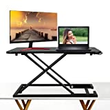 Modrine Standing Desk –Height Adjustable Desk Converter - Instantly Convert Any Desk to a Sit/Stand up Desk