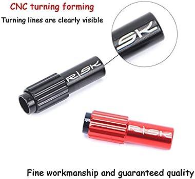 Black Bike Brake Cable Gear Shift Connector Line Regulator Adjuster Housing Cap