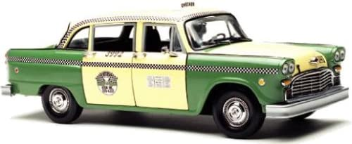 1981 Chicago Checker Cab Taxi A11 Low Ranking TOP7 price Diecast 1:18 Green