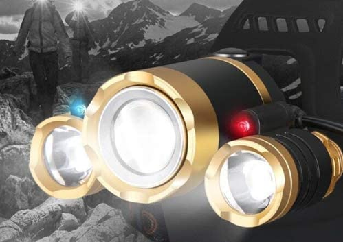 changshuo headlamp Induction headlamp zoom Sensing Hunting head lamp Zoomable Fishing headlight flashlight Camping torch