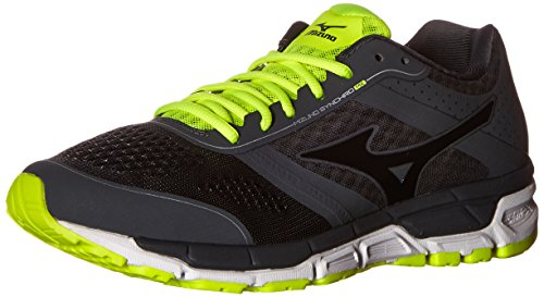 Cheap Mizuno Men's Synchro MX Running Shoe, Dark Shadow/Black, 12 D US